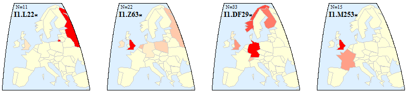 The Distribution of I1-DF29